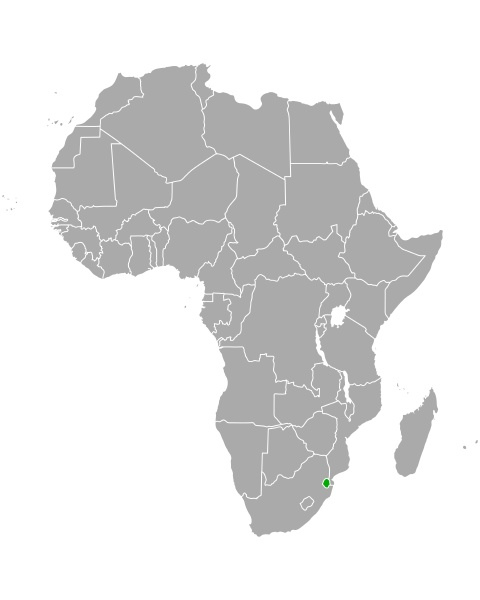 map of eswatini in africa