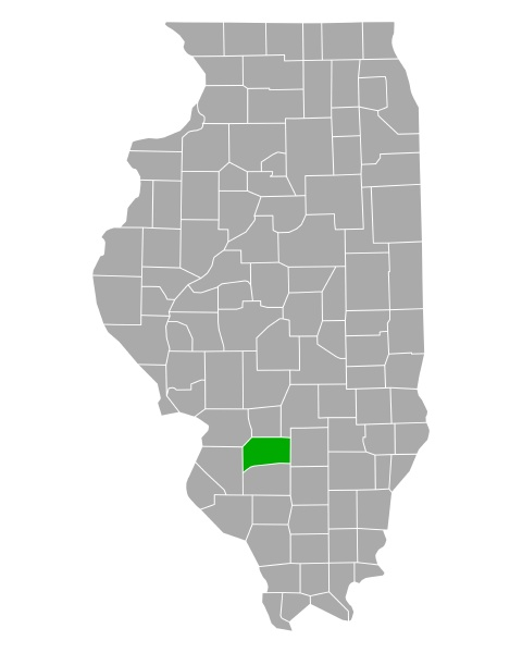 map of clinton in illinois