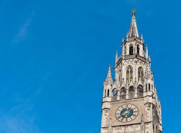 top of munich city hall bell