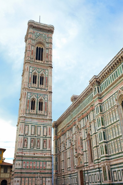 bell tower of the basilica di