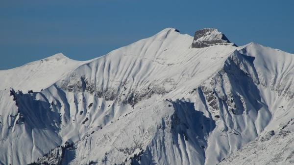 peak of mount vanil noir in