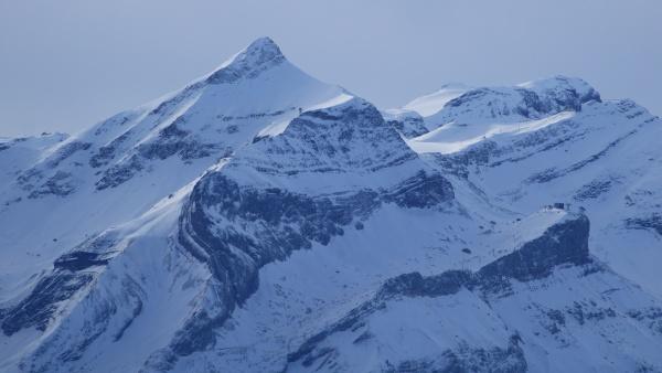 glacier des diablerets and mount oldehore