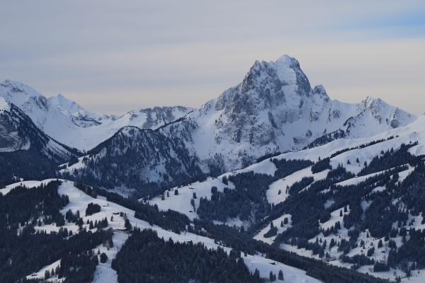 eggli ski area and mount gummfluh