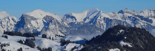 mountains seen from horneggli switzerland