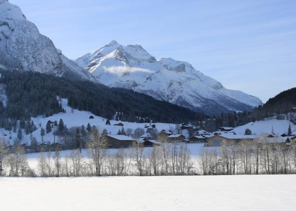 village gsteig bei gstaad and mount