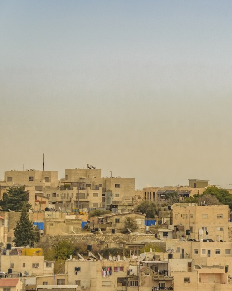 old jerusalem cityscape israel