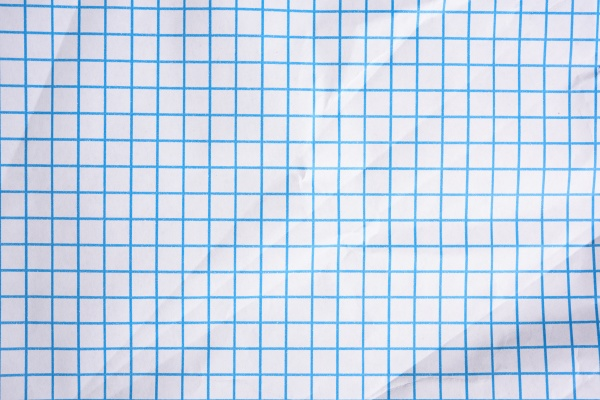 white squared paper texture blue lines