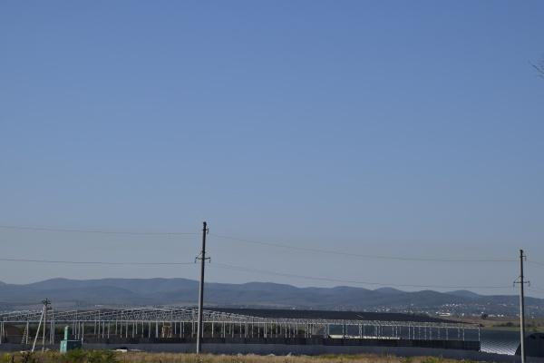 under construction hangar metal frame
