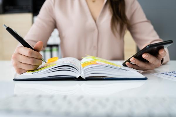 week task list plan and agenda