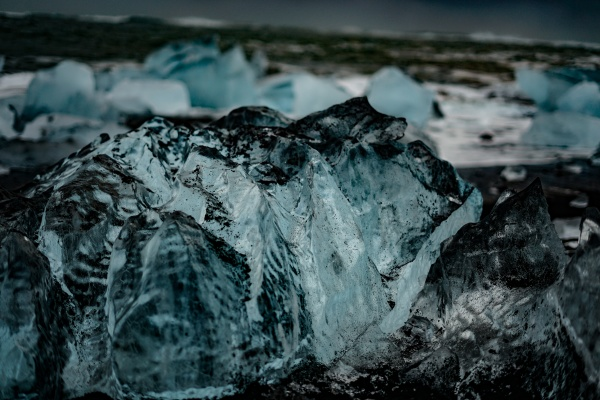 joekulsarlon glacial lake of glacier iceland