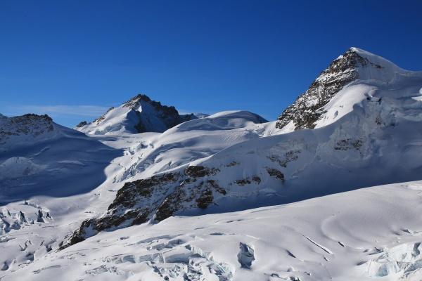 high mountains mt gletscherhorn and mt