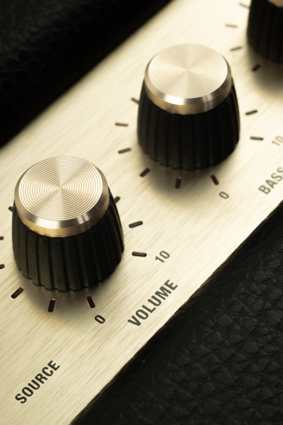 retro and vintage speaker for music
