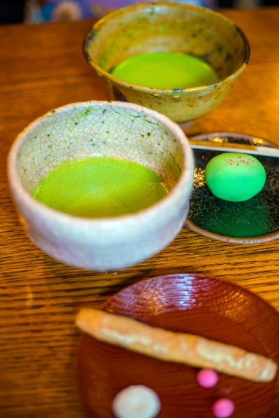 traditional kyoto style green tea