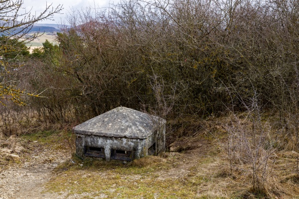 bunker and shelter of the german