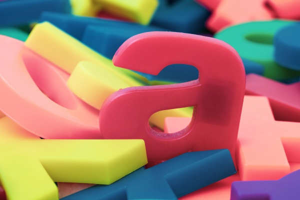 plastic letters fridge magnets