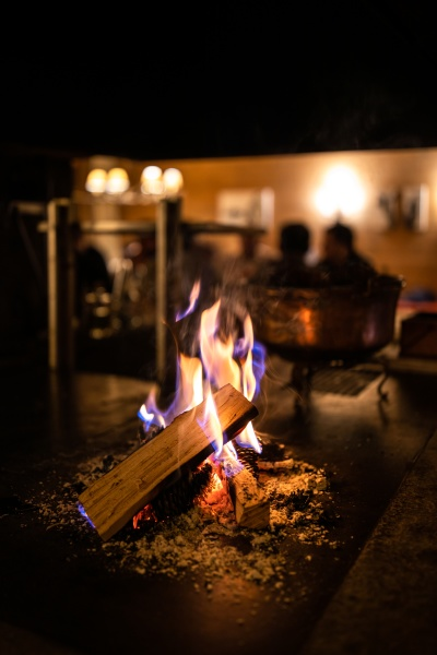 open, fireplace, in, a, cosy, restaurant - 29722023