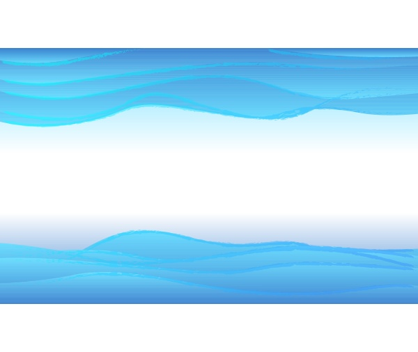 abstract blue water waves layered