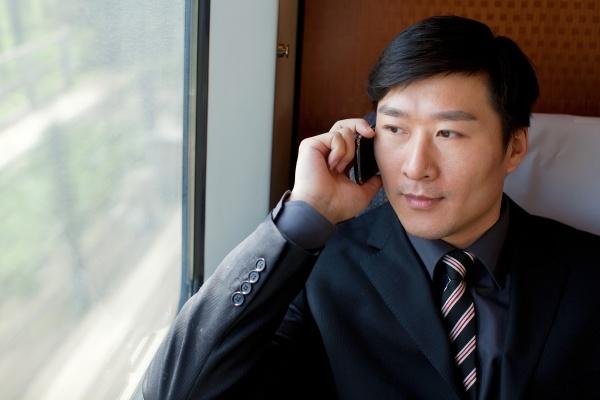 professional attire call conversation business people