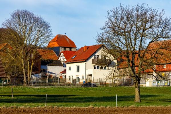 the village of rittmannshausen in hesse