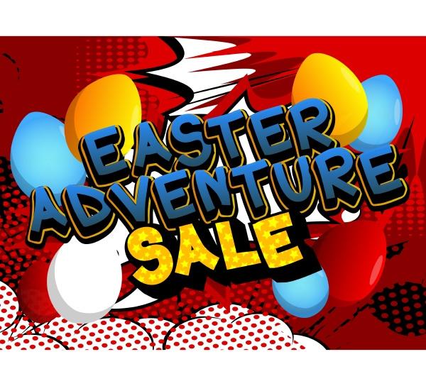 easter adventure sale comic