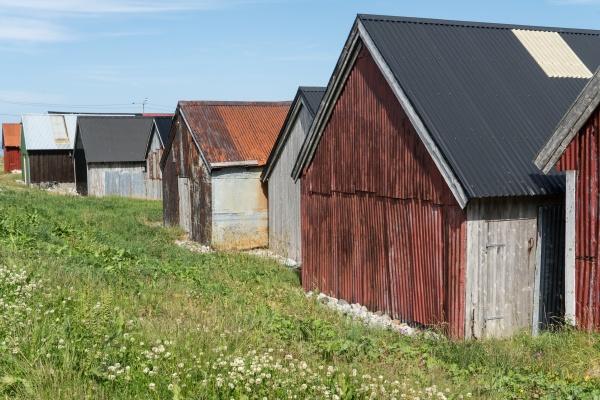 fishermen s huts in alnes on