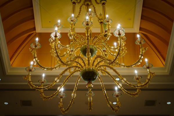 image of luxurious chandelier of mansion