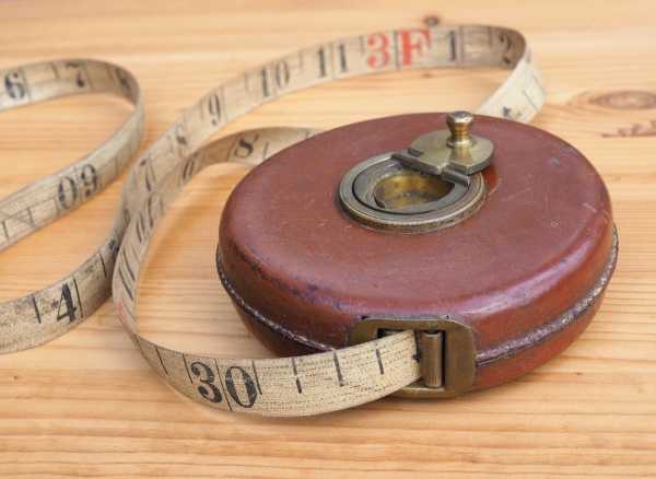 ancient tape measure