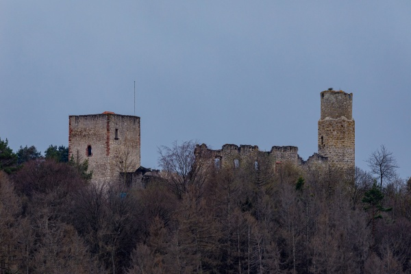 the ruine of brandenburg castle in