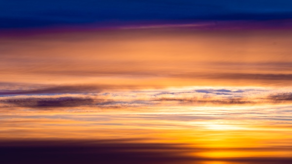 dramatic sunset and sunrise sky fiery