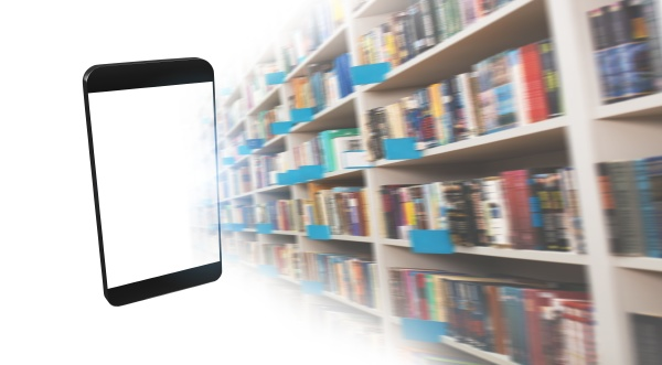 digitization process from books to ebooks