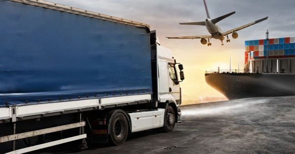truck aircraft and cargo ship ready