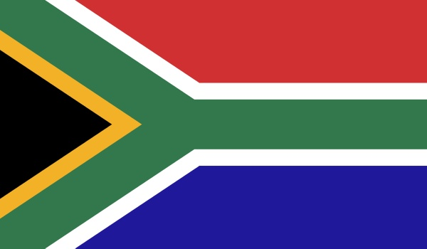 south africa flag image