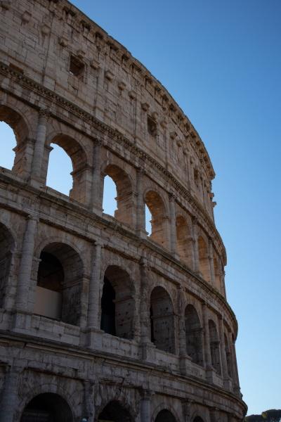 views of roman coliseum roman colosseum