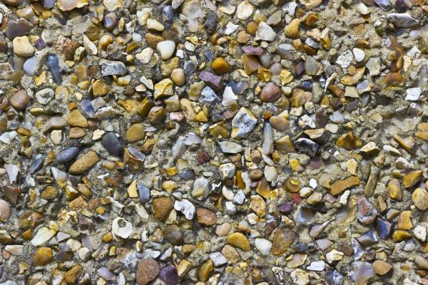 pebble dash texture on an external