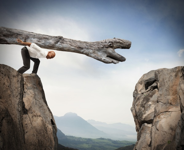 overcoming an obstacle with a solution