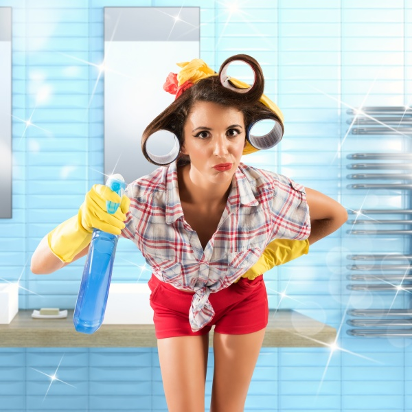 simpering housewife