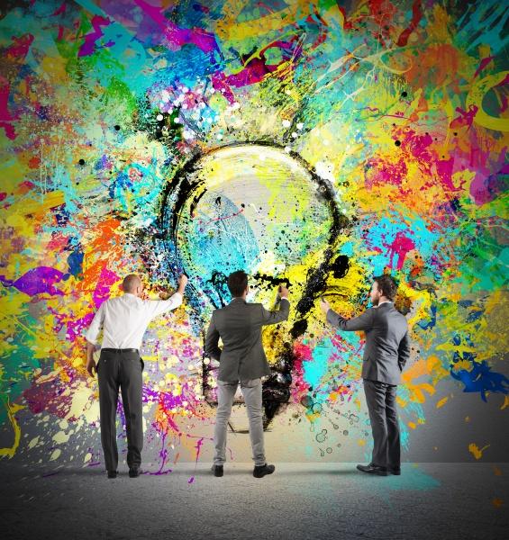 painting a new creative idea