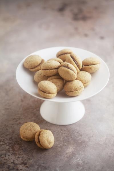 baci di dama italian hazelnut biscuits