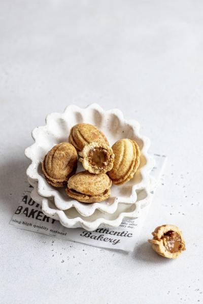 nut cookie bites