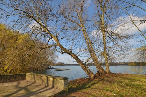 lake maschsee in hannover