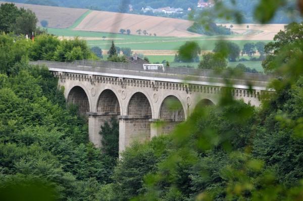 the greene luhe viadukt in lower