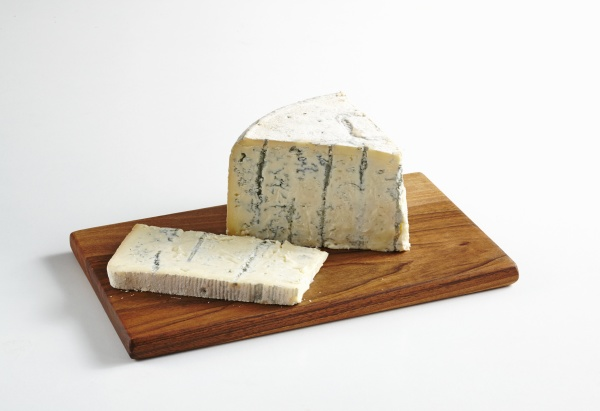 gorgonzola with blue mold on a