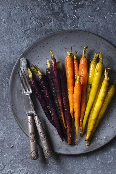 carmelised carrots