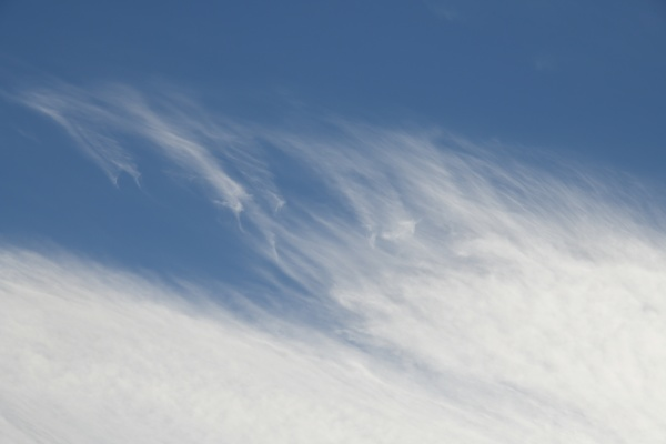 clouds in the spanish sky in