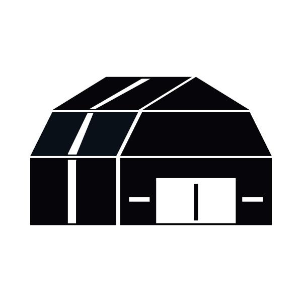 garage storage icon simple style