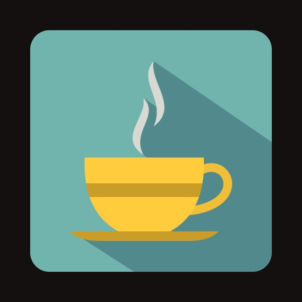 cup of hot drink icon in