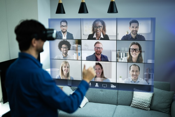 online video conference webinar call