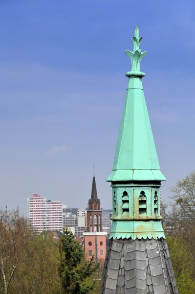steeple of the st martin church