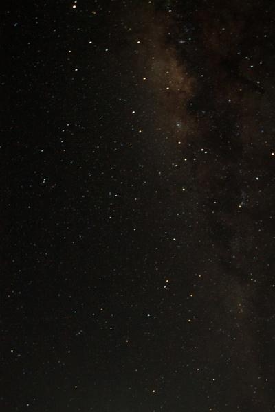 austral sky milky way detail taken