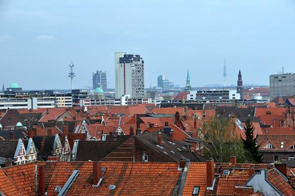 skyline of hannover